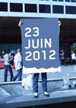 Photo d'inauguration pour le PHAKT - Centre Culturel Colombier, RENNES (35), le 23 juin 2012.