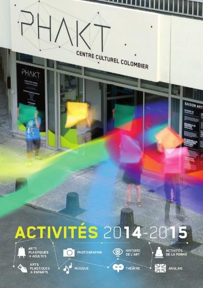 Programme des activités 2014-2015