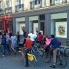 L'art en plein air - balade en vélo avec l'association En roue libre