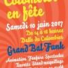 8ème édition de Colombier en fête, dalle du Colombier, le samedi 10 juin 2017, de 14h à 18h. En partenariat avec le PHAKT - Centre Culturel Colombier.