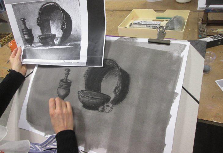 Cours de dessin pour adulte