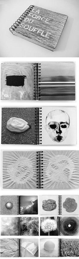 La force du souffle de Muriel Taragano Genre, 2006.Le livre reprend pour une part les échantillons du mur d'images, présenté lors de l'exposition