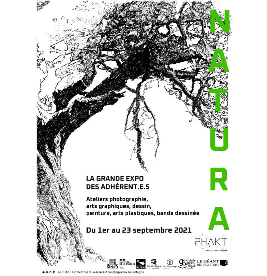 Natura Grande Expo des adhérents du Phakt Centre Culturel Colombier