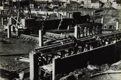 Rennes-chantier-du-colombier, Charles Barmay, 1968 - 1969, Rennes. Collections du Musée de Bretagne.