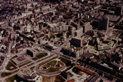 Rennes-quartier-Arsenal-Colombier, Anonyme (Photographe), vers 1987, Rennes. Marque du domaine public. Collections du Musée de Bretagne.