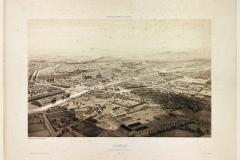 Rennes-vue-prise-au-dessus-de-l'Arsenal, Guesdon Alfred (1808 - 1876) (Dessinateur ; Lithographe), Rennes. Marque du domaine public. Collections du Musée de Bretagne.