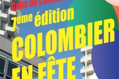 flyer Colombier en fete recto